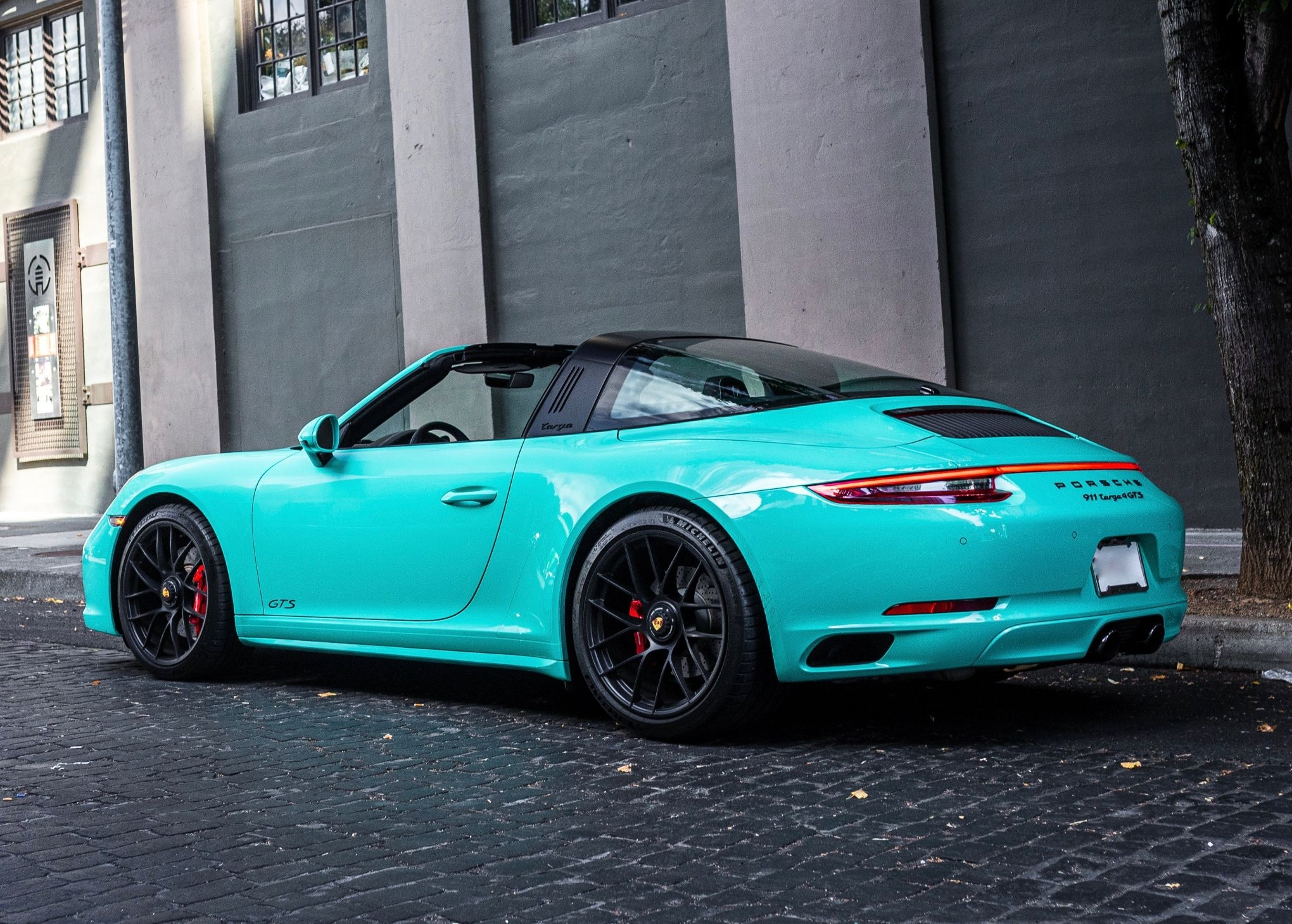 2019 Porsche 991 Targa 4 Gts Pts Mint Green Pcarmarket