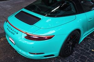 2019 Porsche 991 Targa 4 GTS PTS Mint Green