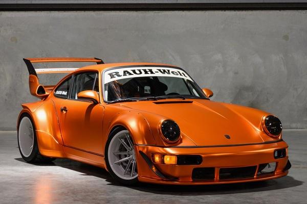 Custom 1979 Porsche 911 SC RWB Small Block