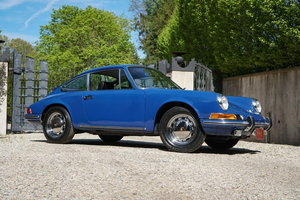 1969 Porsche 912 Ossi Blue