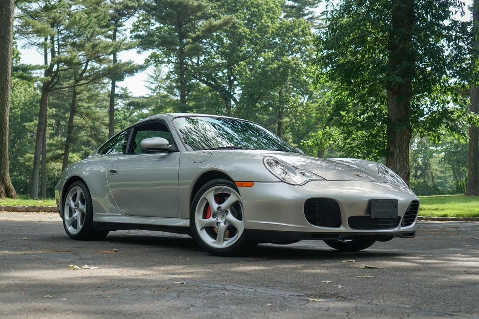 29k-Mile 2002 Porsche 996 Carrera 4S 6-Speed