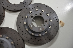 Porsche Carbon Ceramic Brake Rotors