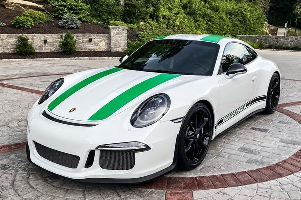 2K-Mile 2016 Porsche 911R 6-Speed #405