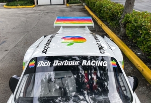 "DT: 1979 Porsche 935 Racecar Tribute ""Apple Livery"""
