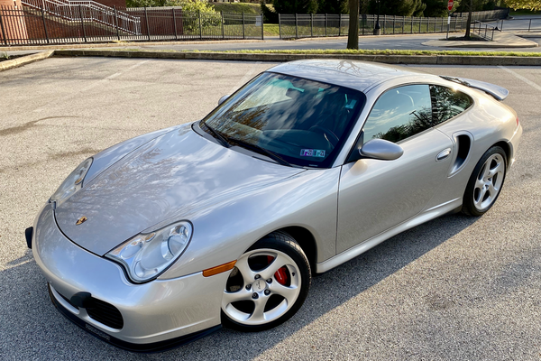 22K-Mile 2001 Porsche 996 Turbo 6-Speed