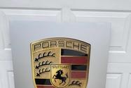 "Factory Porsche Service Sign (55"" X 32 1/2"")"