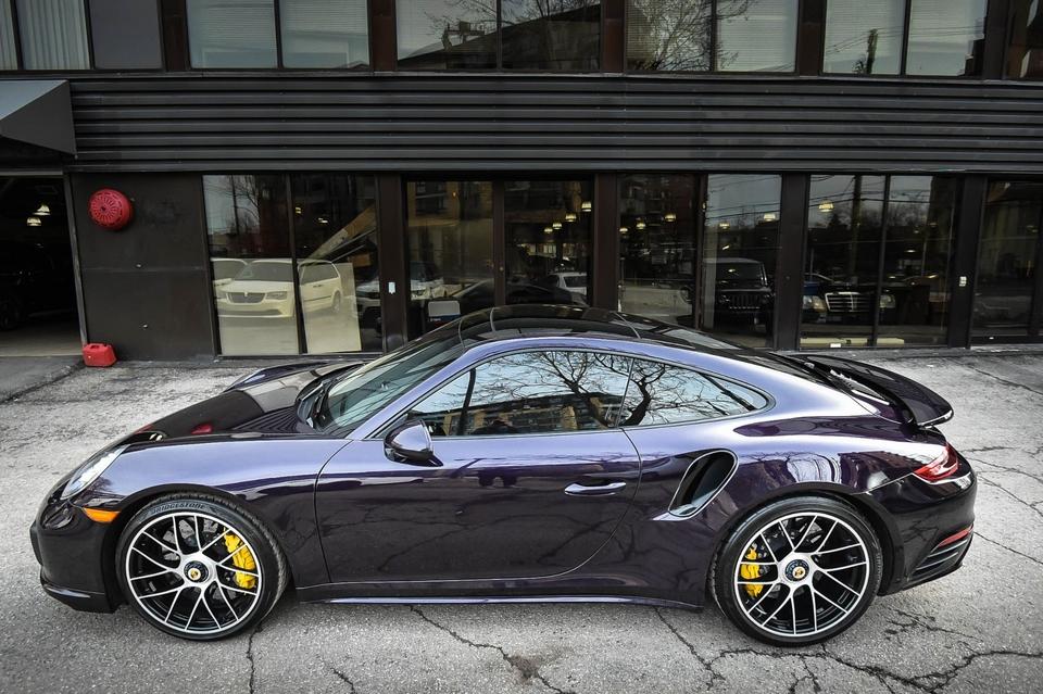 2017 Porsche 991 2 Turbo Coupe Pts Viola Metallic Pcarmarket