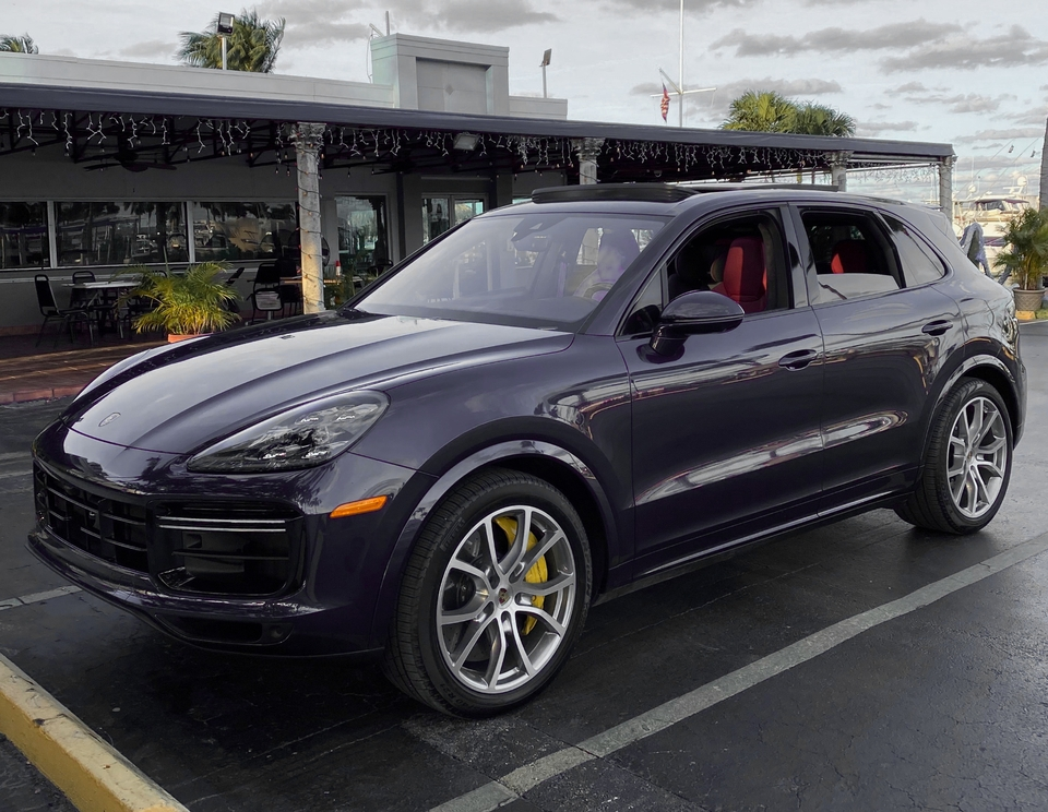 14K-Mile 2019 Porsche Cayenne Turbo