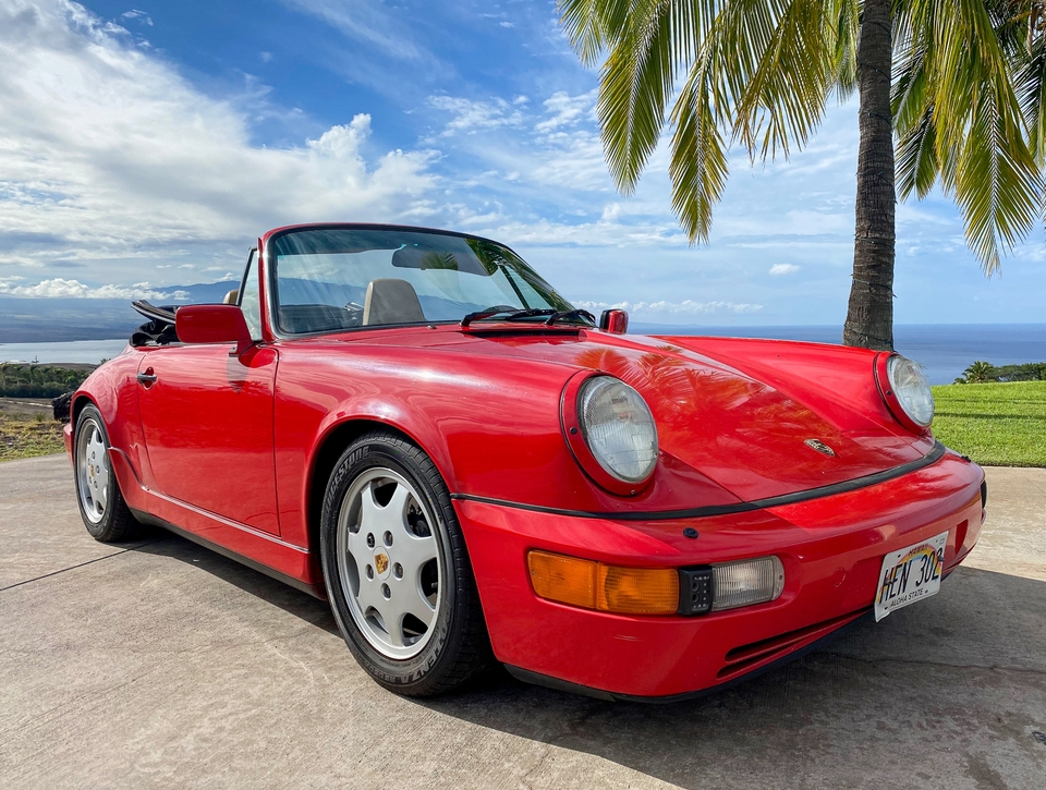 1990 Porsche 964 Carrera 4 Cabriolet 5-Speed