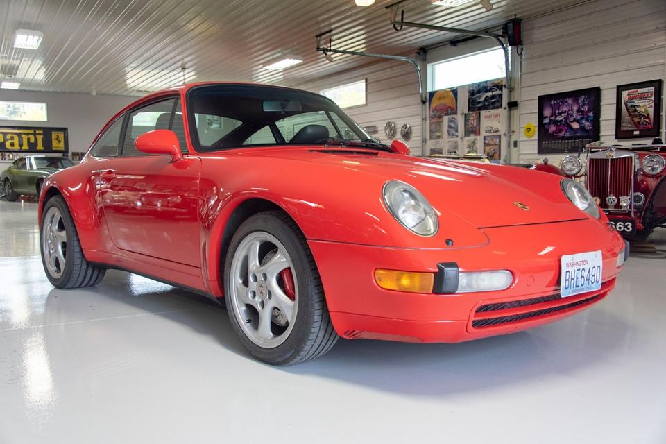 6 Speed 1995 Porsche 993 Carrera 4 Coupe PCARMARKET