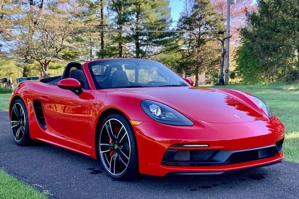 DT- DIRECT 2019 Porsche 718 Boxster GTS 6-Speed