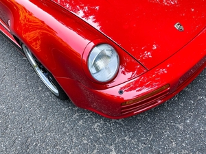 DT: Custom 1988 Porsche 911 Turbo Cabriolet