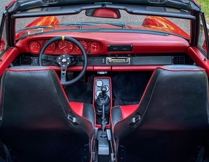 DT: Custom 1988 Porsche 911 Turbo Cabriolet
