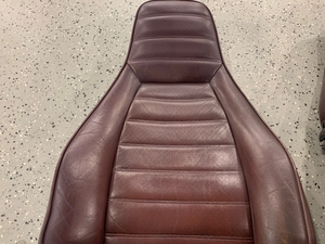 1983 Porsche 911 SC Burgundy Leather Seats