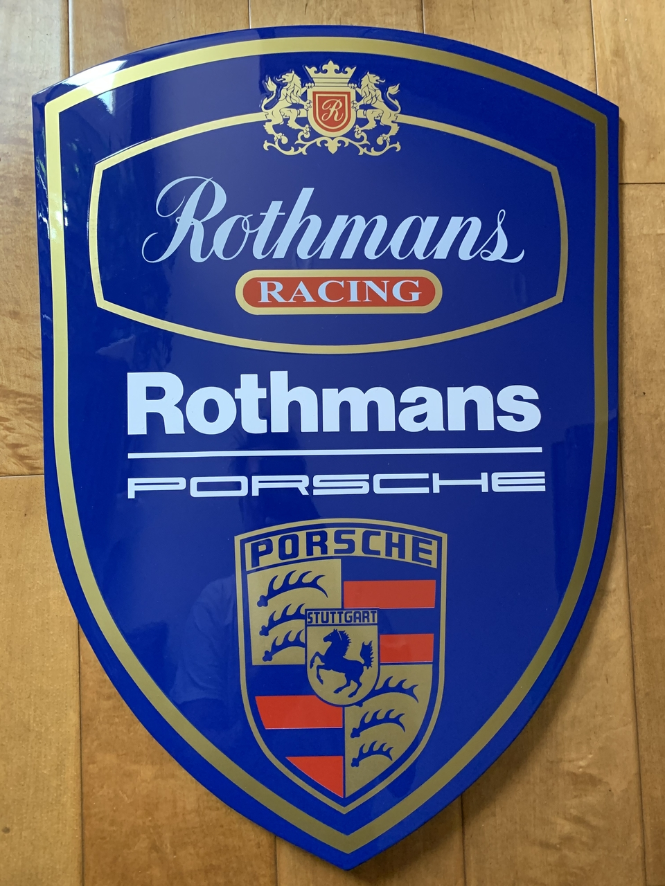 "Rothmans Racing Crest (22"" x 15 3/4"")"