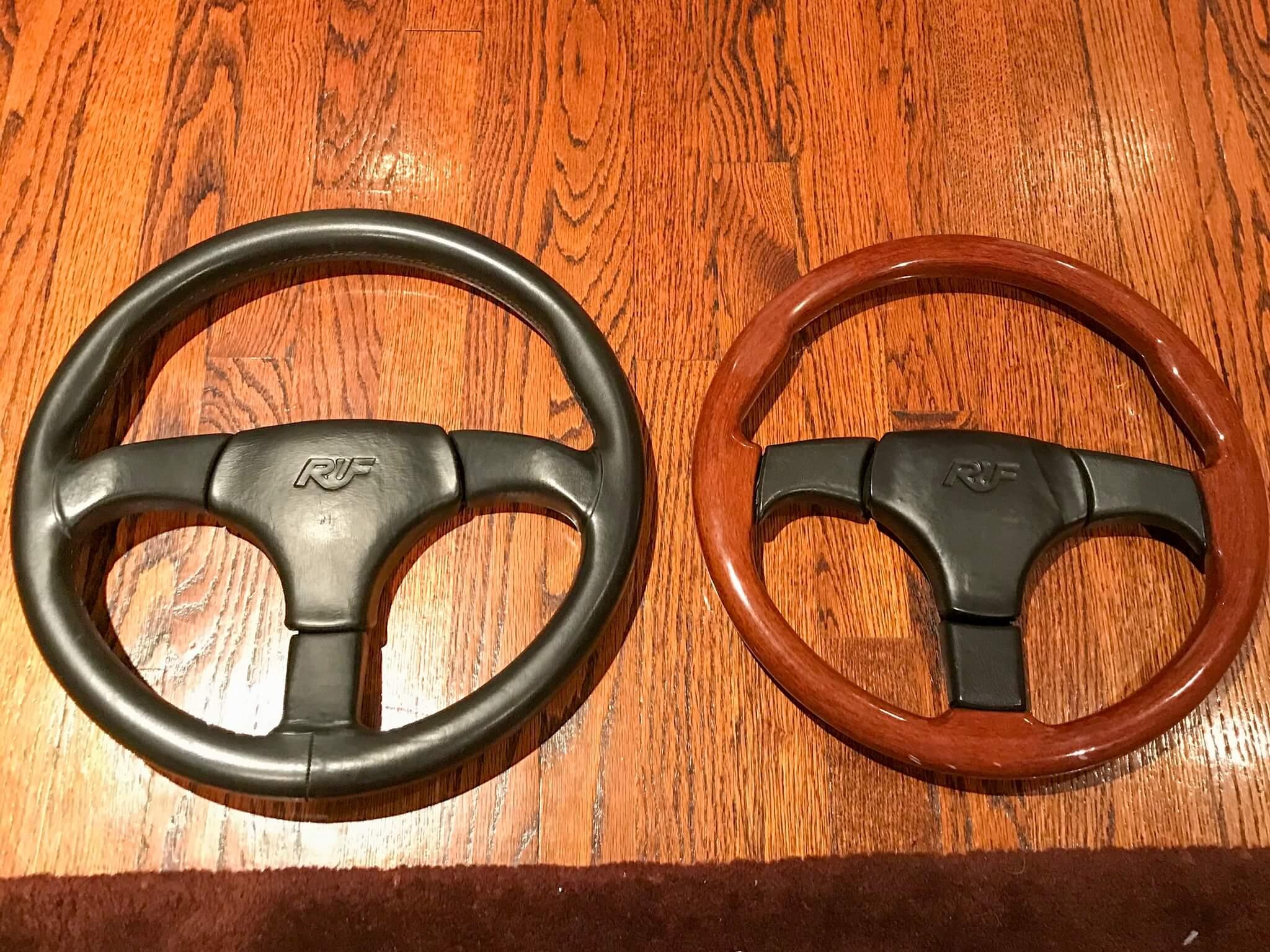 RUF Steering Wheels by Atiwe with Eccentric Hub