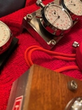 Collection of Seven Vintage Heuer Stopwatches