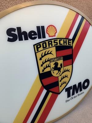 Shell TMO Double-Sided Illuminated Sign