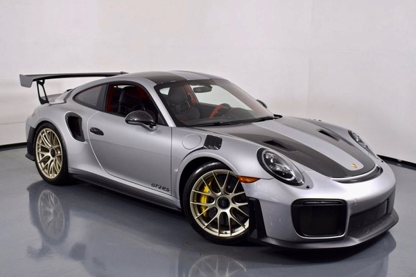 DT: 204-Mile 2018 Porsche 911 GT2 RS Weissach Edition
