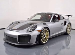 DT: 204-Mile 2018 Porsche 911 GT2 RS Weissach Edition