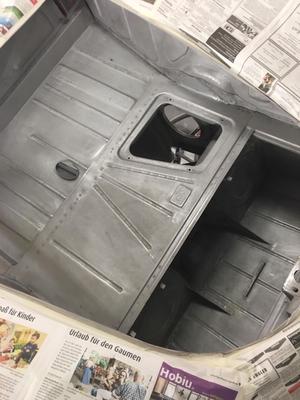 "DT: 1951 Porsche 356 Pre-A 1300 ""Split-Window"" Cabriolet"