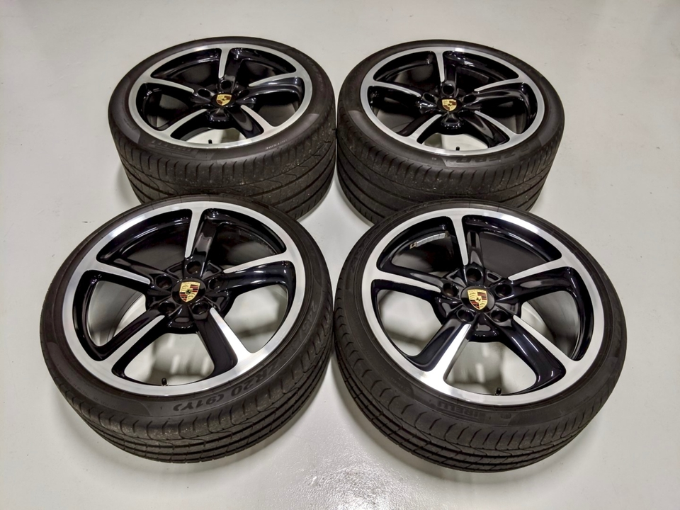 "DT: 20"" Porsche Sport Techno Wheels"