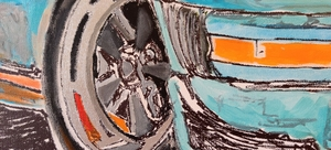 """Sunday Drive"" Painting by Michael Ledwitz"