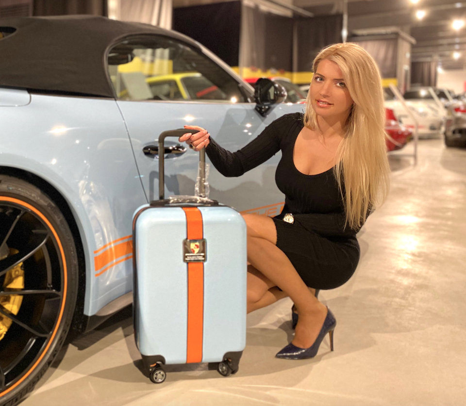 Porsche Luggage Designed By Tanja Stadnic (Covid-19 Charity Auction)