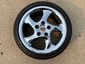 "DT: 18"" OEM Porsche Turbo Twist Wheels with Bridgestone Tires"