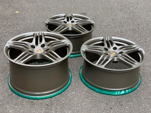 "19"" 997.1 Factory Turbo Wheels (Anthracite)"