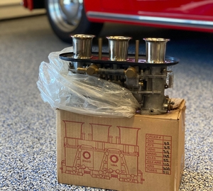 DT: Weber Triple Barrel 40 IDA 3C Carburetors
