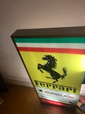 "DT: Official Ferrari Illuminated Dealership Sign (48"" x 22"")"