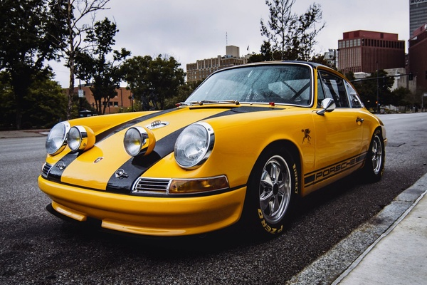 1967 Porsche 911S Outlaw 5-Speed