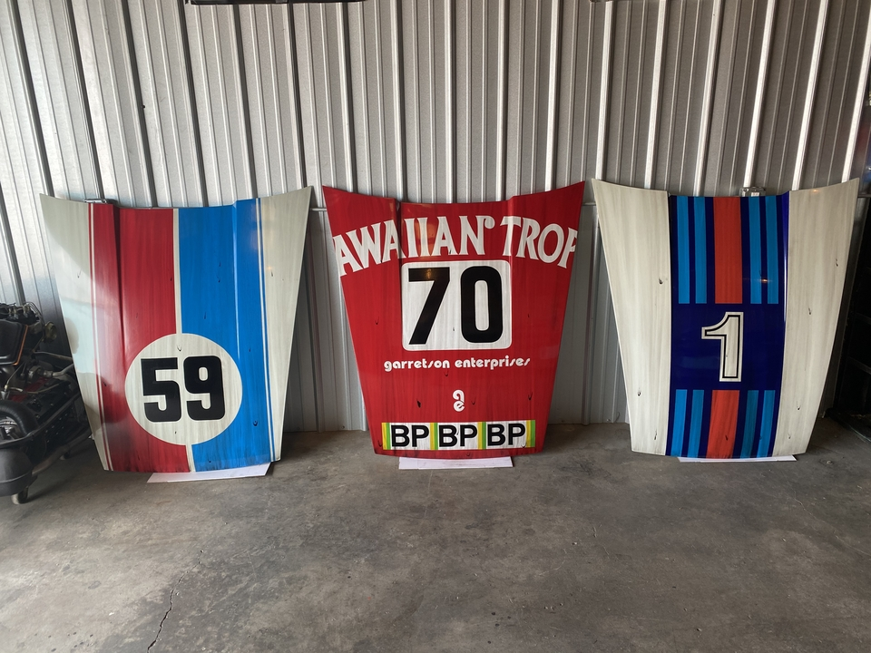 "DT: Don Ramsay ""After the Battle"" Best Hits Three Piece Porsche 911 Hood Art Collection"