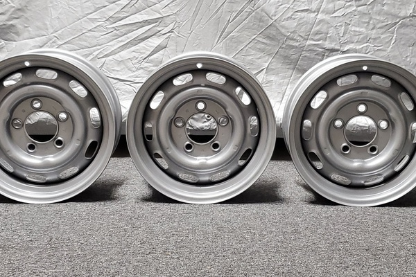 "DT: Five 15"" x 6"" KPZ Wheels"