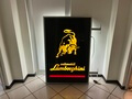 "No Reserve Illuminated Lamborghini Sign (51"" x 34"")"