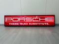 "NO RESERVE Porsche Illuminated Sign (80"" x 16"" x 6"")"