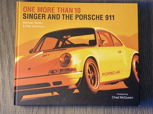 """DT: """"One More Than 10, Singer and The Porsche 911"""" Hardcover Book"""