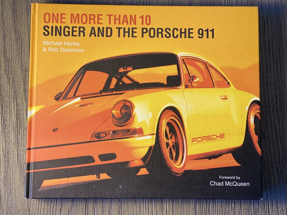 """""""One More Than 10, Singer and The Porsche 911"""" Hardcover Book"""